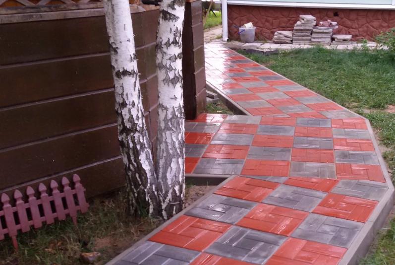 краска для бетонной плитки